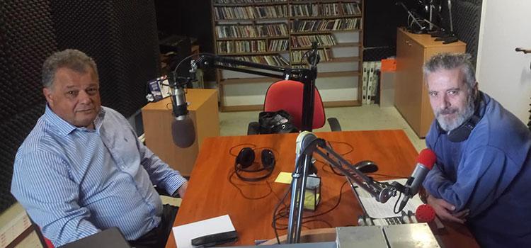 Συνέντευξη στον δημοσιογράφο Βασίλη Σπυριδάκη στο Κόκκινο Κρήτης 88,4 fm