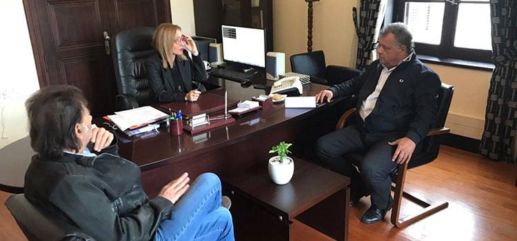 Συνάντηση Ενεργών Πολιτών με την Συντονίστρια της Αποκεντρωμένης Διοίκησης Κρήτης