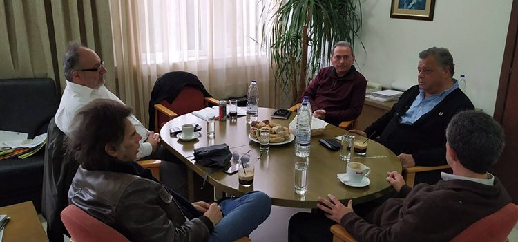 Συνάντηση των Ενεργών Πολιτών με τον Πρύτανη του ΤΕΙ Κρήτης