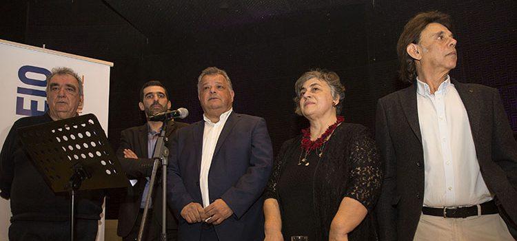 Ομιλία του Ηλία Λυγερού στη  κοπή της πρωτοχρονιάτικης πίτας των Ενεργών Πολιτών