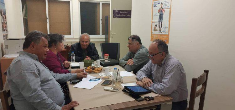Συνάντηση των Ενεργών Πολιτών με τη διοίκηση του ΑΣΠΑ ΗΡΟΔΟΤΟΣ