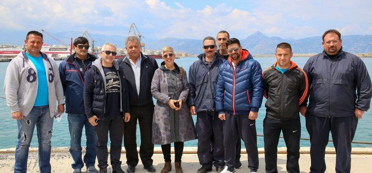 Συνάντηση Ενεργών Πολιτών με τους Συνδέσμους Λεμβούχων Αποσκευοφορέων και Λιμενεργατών Ηρακλείου
