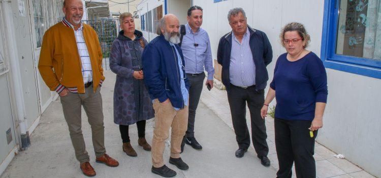 Επίσκεψη των Ενεργών Πολιτών στο Ενιαίο Ειδικό Γυμνάσιο Λύκειο Ηρακλείου