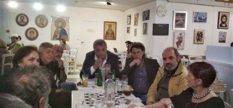 Συνάντηση των Ενεργών Πολιτών με κατοίκους του Κέντρου του Ηρακλείου