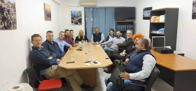 Συνάντηση των Ενεργών Πολιτών με το προεδρείο των επιχειρηματιών επισιτισμού και διασκέδασης