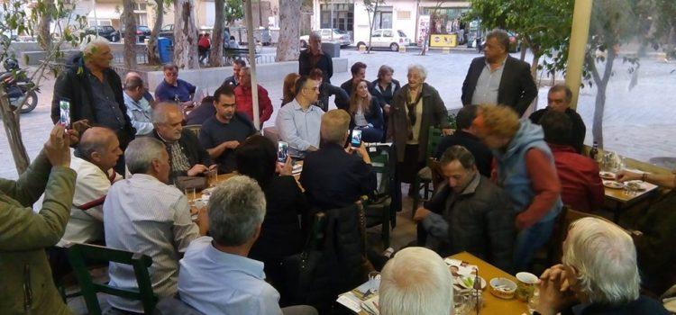 Επίσκεψη και Δηλώσεις Ηλία Λυγερού στο Ατσαλένιο