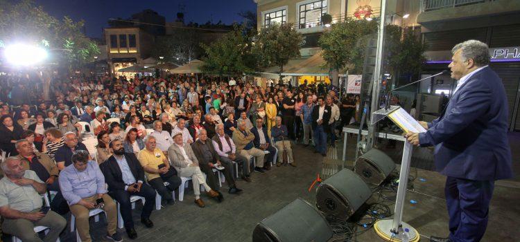 Ηλίας Λυγερός : Νέα σελίδα ανοίγει στον Δήμο Ηρακλείου