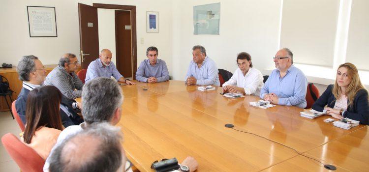 Το Ελληνικό Μεσογειακό Πανεπιστήμιο επισκέφτηκαν οι Ενεργοί Πολίτες