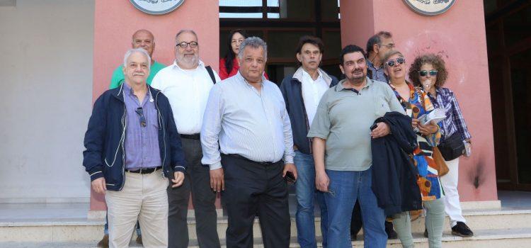 Επισκέψεις των Ενεργών Πολιτών στην Βικελαία Δημοτική Βιβλιοθήκη και σε υπηρεσίες του Δήμου